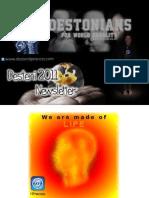 The Desteni Newsletter - 2011