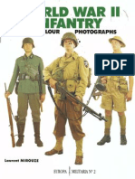 World War II Infantry in Colour Photographs
