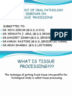 Seminar on Tissue Processing as (2)