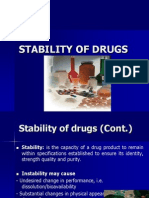 Stability of Drugs