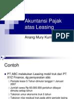 Jurnal Akuntansi Leasing