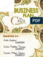 Casza Collections - Business Plan