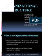 Group 8 - Organizational Structure