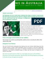 Pakistanis in Australia Vol1issue 6 2011