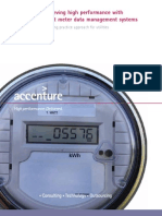 Accenture POV Smart Grid Meter Data Management System