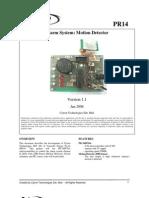Alarm System Motion Detector