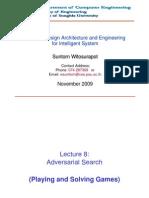 L8 Adversarial Search