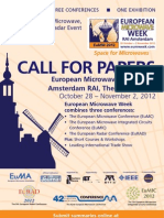Call for Papers 2012
