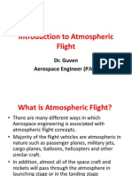 Introduction to Atmospheric Flight
