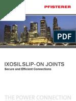 PFISTERER Spil on Joints