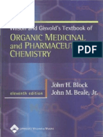 Wilson & Gisvold's Textbook of Organic Medicinal and Pharmaceutical Chemistry 11th Ed