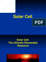 Prsentation of Solar Cell
