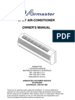 Series Split Aircon Manual