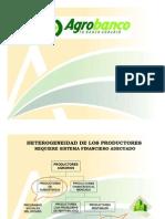 Agrobanco - Productos Financieros Orient a Dos a La Agricultura de Agroexportacion