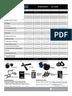 PDF Workout Sheets
