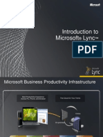 Introduction to Lync Part 1 FINAL