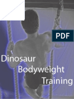 Brooks Kubik - Dinosaur Body Weight Training