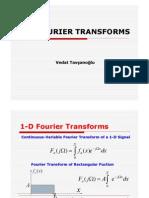 1 d Fourier Transforms