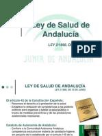 Tema 4. Ley de Salud de Andalucia