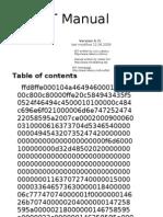 FET Manual Del Usuario