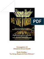 PDF Sinossi in Italiano La Strega Regina Del Sole d' Oriente