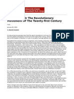Anarchism or the Revolutionary Movement of the Twenty First Century by David Graeber2