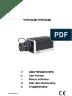 TVIP51500 Bedienungsanleitung Überwachungskamera
