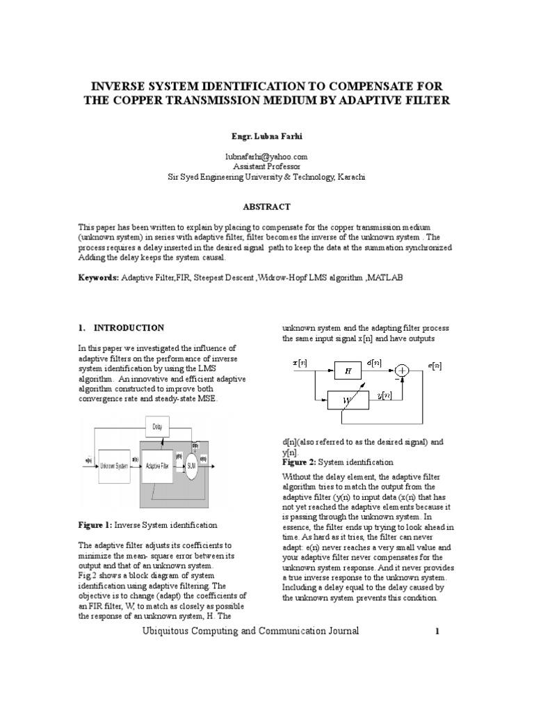 Ubicc Final Paper2008_218 | Algorithms | Mathematical