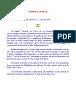 (Ebook - Fr - Occultisme) - Sepher Yetsirah - Le Livre De La Création