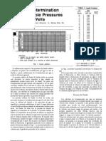 Determinación de Presiones Estáticas en Pozos de Gas Lift