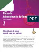 90 dicas de administração do tempo por Raul Candeloro