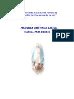 Manual de Madurez Cristiana Básica