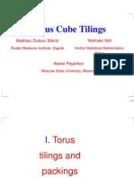Mathieu Dutour Sikiric, Yoshiaki Itoh and Alexei Poyarkov- Torus Cube Tilings