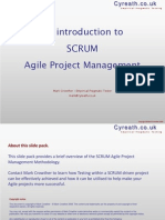 Cyreath an Introduction to SCRUM