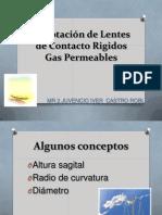 Adaptaci¢n de Lentes de Contacto Rigidos Gas Permeables USMP