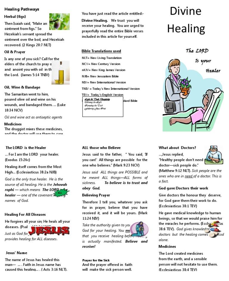 ROOTS Divine Healing 7 5 2012 | Faith Healing | Prayer