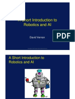 David Vernon Short Intro to Robotics and AI