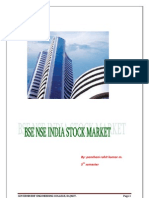 Bse Nse India Stock Market-report