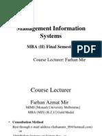 MIS Lecture 123