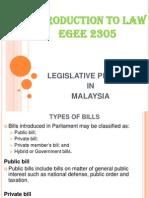 10. Legislative Process