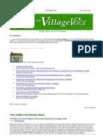 23rd December 2011 Village Newsletter