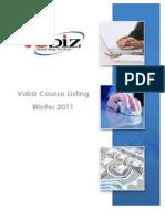 Vubiz Catalog - Winter 2011