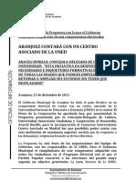 Aranjuez contará con un centro asociado de la UNED