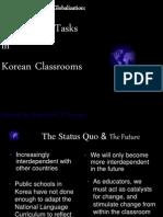 Global-Using More Tasks in Korean Classrooms