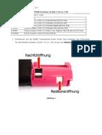 Refillanleitung EPSON Aculaser C1100-CX-NF