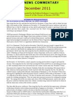 PDC Monthly News Commentary - December 2011 (Eng)