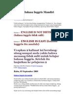Belajar Bahasa Inggris Mandiri