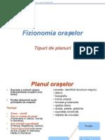 Fizionomia Oraselor Tipuri de Planuri