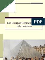 Los Cuerpos Geométricos en La Vida Cotidiana