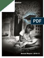 Altius Foundation Report 2010-11